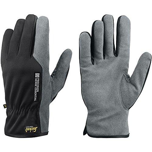 Snickers Workwear 95614804009 Präzisions Handschuhe Sense Essential Größe 9 in grau/schwarz, 9