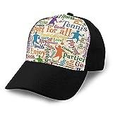 hyg03j4 0 Gorra de béisbol de Moda con Sombrero de Vaquero para Hombres y Mujeres, Deporte para Todos los Azulejos sin Costuras Ba