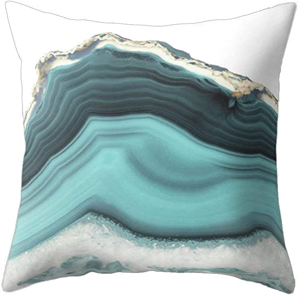 Wintefei Modern Living Room Decoration Abstract Square Pillow Case Cushion Cover