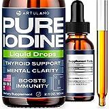 Іоdіnе Supplement for Thyroid Support – High Potency Іоdіnе Drops with Superior Absorption - Іоdіnе Solution to Improve Energy & More - for Women, Men, Kids – 240 Servings