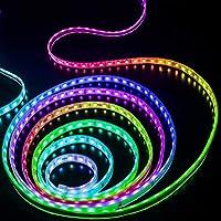 プレミアム ベッドルーム用LEDストリップライト、LEDストリップライトリモート5050 RGB LEDストリップライト付き プロフェッショナル&アップグレード済み (Color : 30 LEDs per meter IP65 Waterproof, Size : 3m)