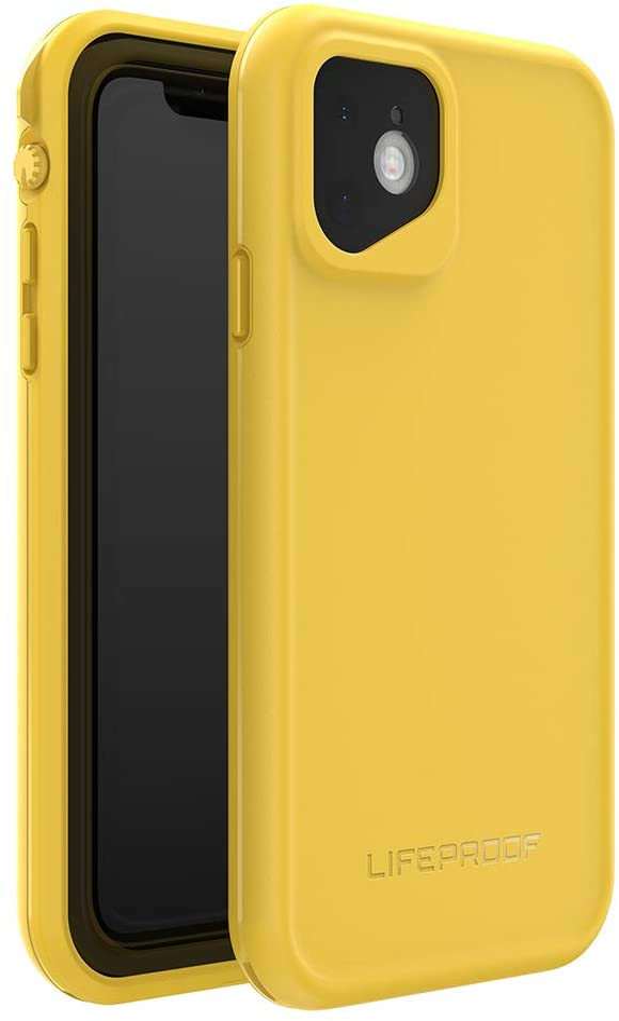 LifeProof FRĒ SERIES Waterproof Case for iPhone 11 - ATOMIC #16 (EMPIRE YELLOW/SULPHUR)