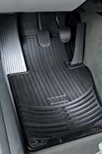 BMW E39 5 Series Genuine Factory OEM 82550151196 All Season Black Front Floor Mats 525i 528i 530i 540i 1997 - 2003 (set of 2 front mats)