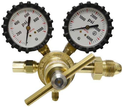 Uniweld RHP800 Nitrogen Regulator with 0-800 psi Delivery Pressure, 2