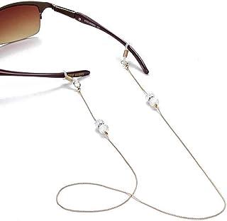 f715e834ea Cadenas de gafas de gafas para mujer, antideslizantes, gafas de lectura,  gafas de