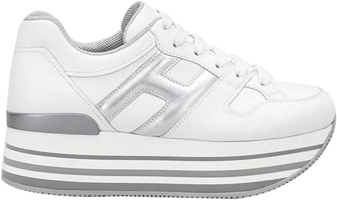 Amazon.com | Hogan Womens Maxi H222 Fashion Sneakers | Fashion ...