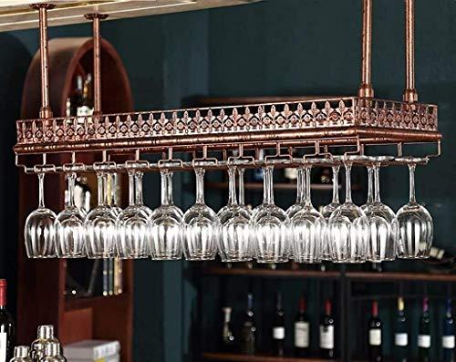 COLiJOL Soporte para Botella Estante para Vino Estante para Vino Soporte para Copa de Vino Copa de Vino Tinto para el Hogar Almacenamiento para Colgador de Copa,el 120 * 35Cm,el 120 * 35Cm