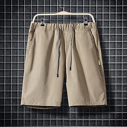 Shorts Pantalones Cortos Hombres Pantalones Cortos para Hombre Pantalones Cortos Casuales para Hombres Pantalones Cortos Deportivos Pantalones Cortos con Cordón Recortado Ropa para Hombres Pantal