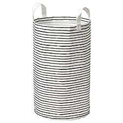 top rated IKEA Klunka Laundry Bag White Black 103.643.73 Size 16 Gallons 2021