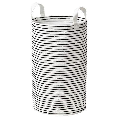 IKEA Klunka Laundry Bag White Black 103.643.73 Size 16 gallon