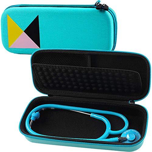 Stethoskop Tasche - Netztasche für Zubehör Innen mit Handschlaufe, für 3M Littmann Classic Stethoskop - Minze