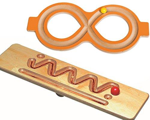 Montessori--Material zur Freiarbeit mit Wortartensymbolen 5er Satz MontessoriPlus Wortarten Schablonen Wortartenlineal