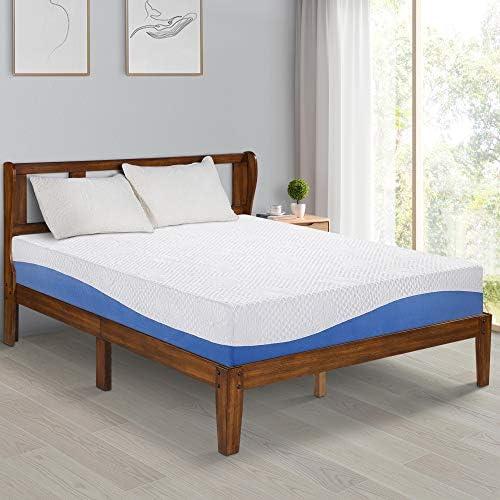 Top 10 Best olee sleep 10 inch gel infused layer top memory foam mattress Reviews