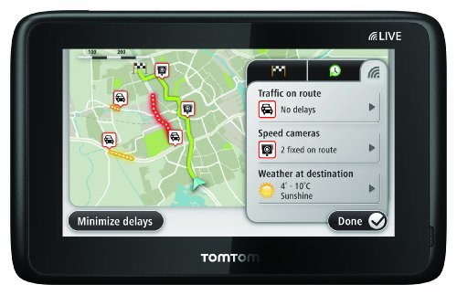 TomTom GO 1005 Hdt&m EU LTM Navigationssystem (Kontinent)