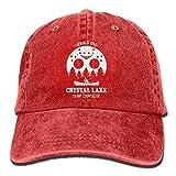 Photo de Kay Sam Camp Crystal Lake Denim Hat Casquettes de Baseball Ajustables Unisexes Snapback par