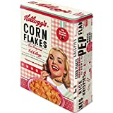 Nostalgic-Art 30324 Kellogg 's Girl Corn Flakes Collage, Tarro XL