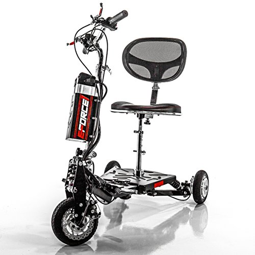 Our #1 Pick is the EFORCE1 Recreational Mobility Scooter