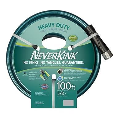 Teknor Apex 1094716 NeverKink 8615-100, Heavy Duty Garden Hose, 5/8-Inch by 100-Feet