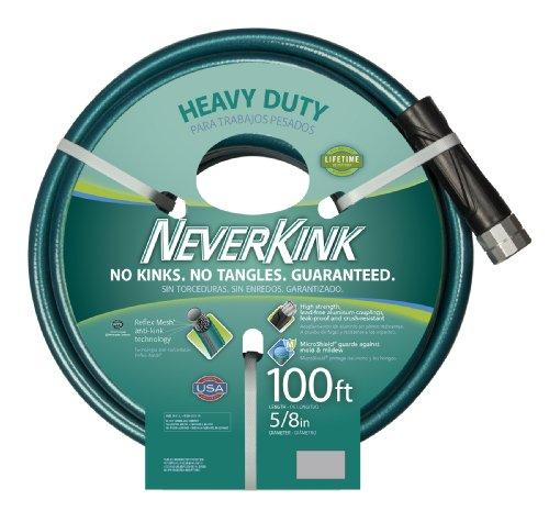 Teknor Apex 8615-100 NeverKink Heavy Duty Garden Hose, Green, 5/8-Inch by...