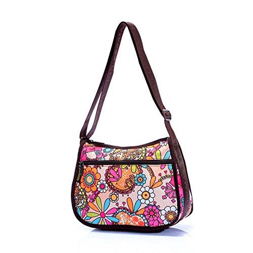 Impermeable bolsa/bolso/bolsa de mensajero/bolso de hombro/ocio impresión bolsa