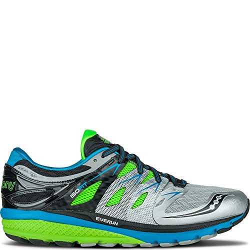 Saucony Men's Zealot Iso 2 Running Shoe 8.5 M US BlueSlime