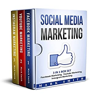 Social Media Marketing: Facebook Marketing, Youtube Marketing, Instagram Marketing                   By:                                                                                                                                 Mark Smith                               Narrated by:                                                                                                                                 Steve Edwards                      Length: 3 hrs and 53 mins     101 ratings     Overall 4.1