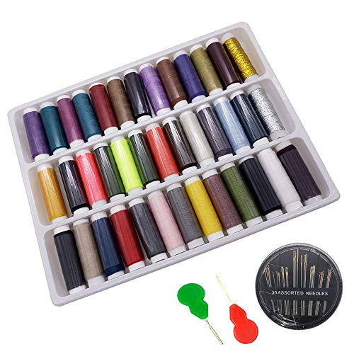Sewing Thread Set 39 Spools Asso...