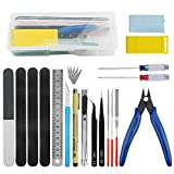 BXQINLENX Professional 20 PCS Gundam Model Tools...