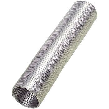 Wolfpack Tubo Aluminio Compacto Ø 200 mm, Ventilador Extractor, Tubo Campana, Ventilación Doméstica, Color Gris: Amazon.es: Bricolaje y herramientas