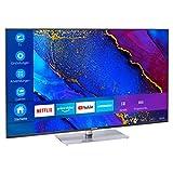 MEDION X15061 125,7 cm (50 Zoll) UHD Fernseher (Smart-TV, 4K Ultra HD, Dolby Vision HDR, MEMC, Micro Dimming, Netflix, Prime Video, WLAN, Triple Tuner, DTS, PVR, Bluetooth)