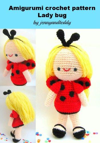 Amigurumi ladybug girl Sofia (English Edition)