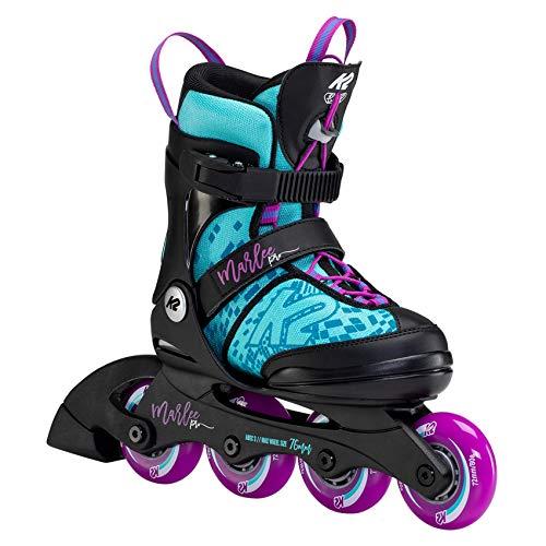 K2 Skates Unisex– Erwachsene Inline Skate Marlee PRO — Light Blue - Purple — L (EU: 35-40 / UK: 3-7 / US: 4-8) — 30F0225