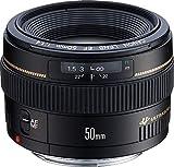 Canon EF 50mm f/1.4 USM - Objetivo para Canon (Distancia Focal Fija 50mm, Apertura f/1.4) Color Negro