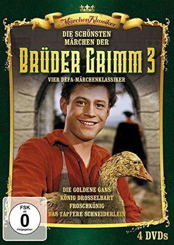Die schönsten Märchen der Brüder Grimm - Box 3 [4 DVDs]