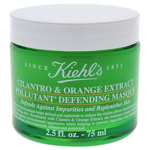 Kiehls Cilantro & Orange Extract Pollutant Defending Masque