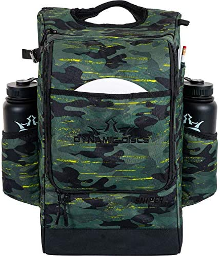 Dynamic Discs Sniper Disc Golf Backpack 16 Disc Main Storage Compartment Deep Top Zippered Pocket product image
