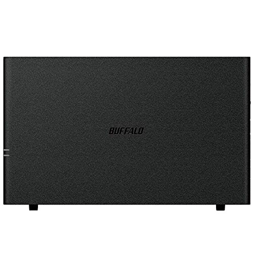 Buffalo LinkStation 210 2TB Private Cloud Storage NAS with Hard Drives Included