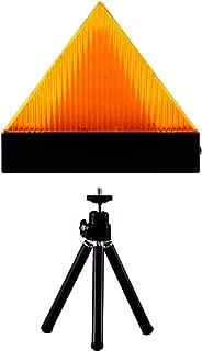 with tripod AnTom Flashing Warning Light Road Warning Beacon,30 LED Emergency Roadside Flares Safety Rechargeable Strobe Light Magnetic Base for Car Truck Boat