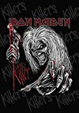 Global Merchandising Iron Maiden Flag Collage Killers # 3 Poster Flag Fabric Poster Flag