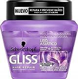 Gliss - Mascarilla Liso Asiático - 3 uds de 300ml - Schwarzkopf
