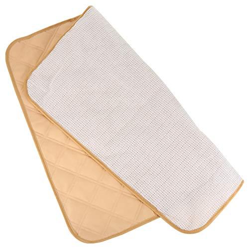 HEALLILY Almohadillas de Incontinencia para Sillas Almohadillas Protectoras de Asiento Impermeables Lavables para Hombres Mujeres Niños 54X52X0. 5Cm Beige