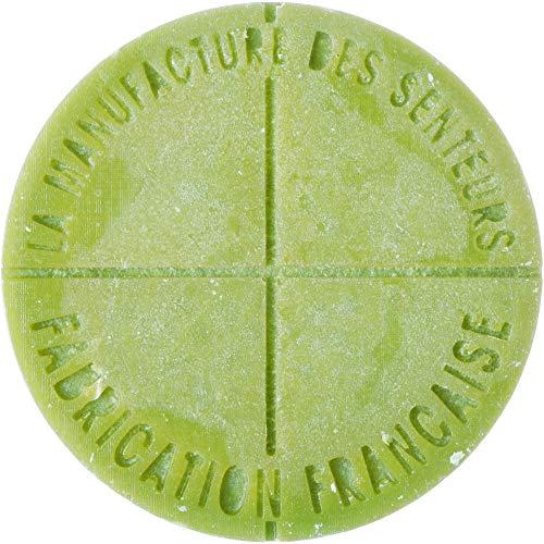 La Manufacture des Senteurs 36-2H-801 Pastilles de Parfum d'intérieur pour brûleur à Bougie Senteur Anis Set de 5 Cire 100% végétale Huile Essentielle Aromathérapie Fabrication française, Vert