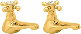 Deva TUD02/501 Tudor Bath Tap with Gold Finish