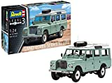 Revell RV07047 1:24 - Land Rover Series III Plastic Model kit 1/24