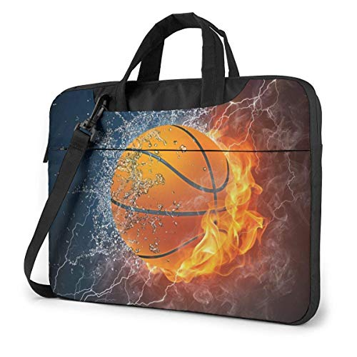 15.6″Durable Hombro Mensajero Bolsa maletín PC Baloncesto Moda Impermeable Ordenador Portátil/portátil/Tablets