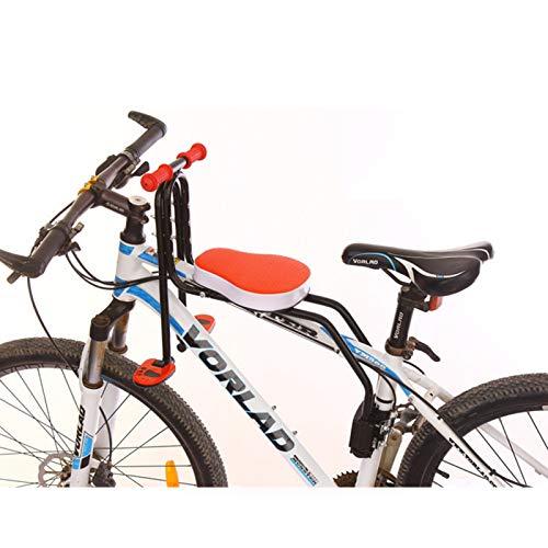 Kinderfahrradsitz Verstellbares Fahrrad Kindersitz für 2-6 Jahre Geeignet für alle Mountainbikes und einige Freizeitfahrräder