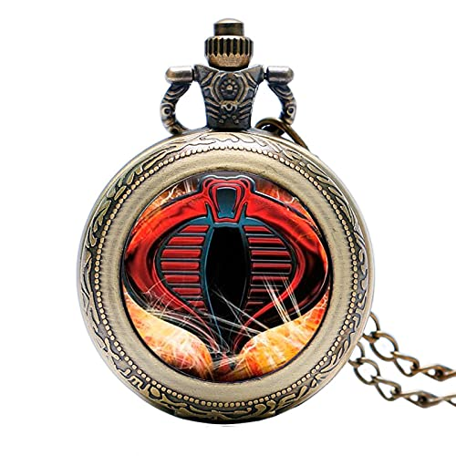 Pocket Watch Necklace Necklace Clock Gift Gift Watch Wall Clock Pendant Pocket Watch Cobra