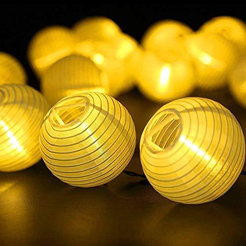 Farolillos Solares Exterior de Luces de Cuerda