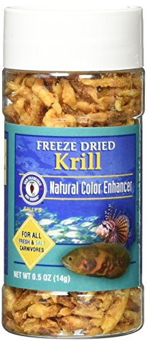 San Francisco Bay Brand Asf71305 Freeze Dried Krill For Fresh And Saltwater Carnivores, 14G