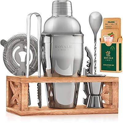 | Mixology Bartender Cocktail Shaker Kit |